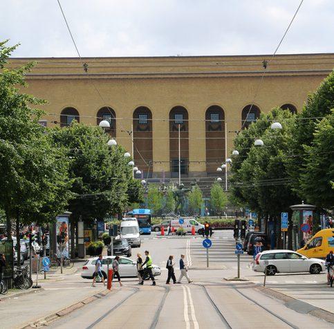 Klubbgatan Avenyn i Göteborg